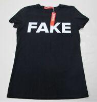 NWT - REPEL - FAKE NEWS - Women's Small Black T-Shirt
