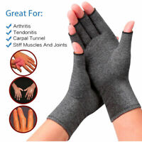Compression Gloves Brace Support Arthritis Carpal Tunnel Hand Wrist Pain Reduce