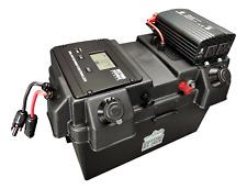 500W Solar Generator, Solar Battery Box w Inverter, USB, 12V Inputs/Outputs