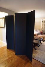Privacy Room Divider - Black Cardboard