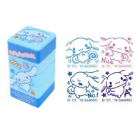 Sanrio Mix Characters 2.8W x 5.5H x 2.8D cm 4-In-1 Self-Inking Stamp 9-4974-48