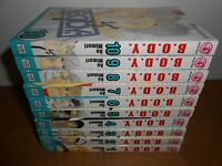 B.O.D.Y. vol. 1-10 Manga Graphic Novel Book Lot in English Shojo Romance