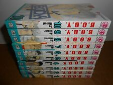 B.O.D.Y. vol. 1-10 Manga Graphic Novel Book Lot in English Shojo Romance