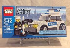 Lego City Police Car #7236 *New In Box*