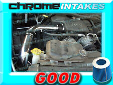 BLACK BLUE 02-10 DODGE RAM 1500/2500/3500 3.7L 4.7L 5.7L V6 V8 COLD AIR INTAKE
