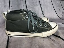 CONVERSE All Star High Tops Gray Black -  Boys/Girls Youth Kids Size 1 ❤i