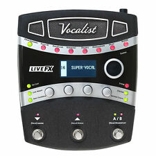 NEW DigiTech Vocalist Live Harmony - Vocal FX Processor Model VLHM