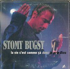 CD 2 TITRES STOMY BUGSY--LA VIE C'EST COMME CA--1998