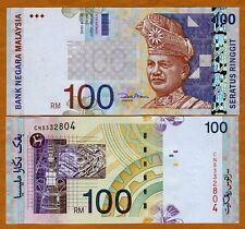 Malaysia, 100 Ringgit, ND ( 2001), P-44 (44d), UNC ---> OVD