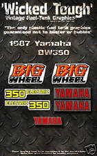 YAMAHA 1987 BW350 WICKED TOUGH DECAL GRAPHIC KIT