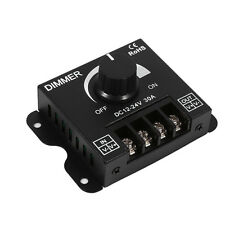 12V-24V 30A Led Switch Dimmer Controller Manual Operation for Strip Light Metal