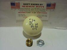 Hurst Auto Stick One, His/Her's, V-Gate  Shift Knob, (Off White / Ivory)