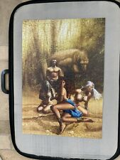African Warrior with Slaves- 750 PIECES - COMPLETE- NO BOX- See Description