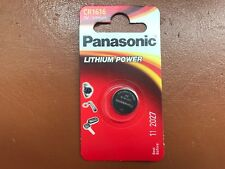 NEW Panasonic CR1616 3V Lithium Coin Cell Battery 1616 DL1616 BR1616 LONGEST EXP