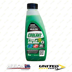 NULON Long Life Concentrated Coolant 1L for SUZUKI Ignis 1.3 Litre Eng 2000-2006