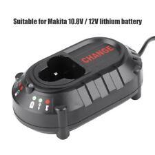Neu 10.8 / 12V Li-ion Batterie Ladegerät Akku-Ladegerät für MAKITA DC10WA DF030D