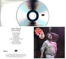 JOHN GRANT Love Is Magic 2018 UK 10-trk numbered promo test CD