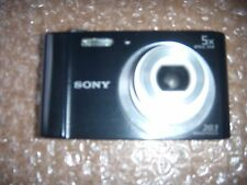 Sony Cyber-shot DSC-W800 20.1 MP Digital Camera Black For Parts or Repair