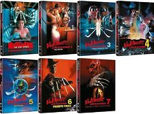 Nightmare on Elm Street 1-7 Mediabook Set Limitiert Neu und Originalverpackt