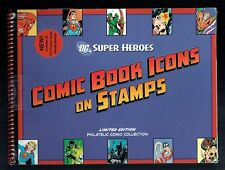 Sealed 2006 Dc Super Heroes Comic Book Icons On Stamps W/  00004000 Stamps Limited Edition