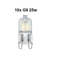 10x Capsula ECO G9 25w Eveready Blanco Calido Regulable Ahorro de Energia 240v