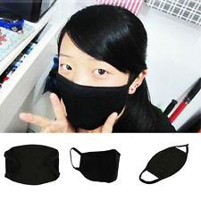 Men Women Cotton Black Anti-Dust Face Mouth Mask Protective Cover