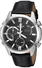 Casio Men's 'Edifice' Quartz Stainless Steel Casual Watch, Color:Black...