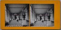Grand Trianon Francia Foto Stereo PL47 Vintage Analogica c1900
