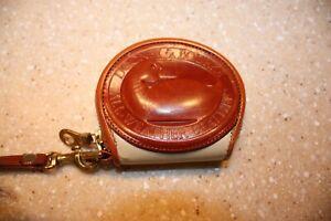 Dooney & Bourke Vintage All Weather Leather Big Duck Coin Change Purse  Bone ?