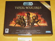 TOTAL WAR : ERAS MEDIEVAL 1 PC WINDOWS USED COMPLETE EXCELLENT Italian version