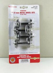 Bachmann Metallradsatz 92421 - Spur G - 31 mm - 4 Stück