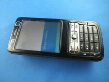 Original Nokia N73 Schwarz mit Simlock Handy Black Rarität Oldphone Locked NBx23