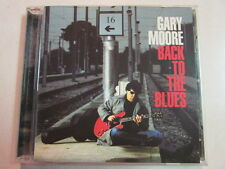 GARY MOORE BACK TO THE BLUES DUALDISC CD/DVD SURROUND SOUND THIN LIZZY GUITARIST
