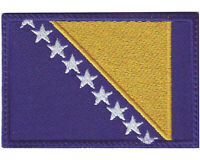 Bosnia Flag Embroidered Patch
