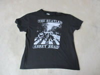 Beatles Abbey Road Concert Shirt Adult Extra Large Black White Band Tour Rock