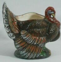 Holland Floral, Inc 1990 Vintage Ceramic Turkey Decorative Planter Flower Pot