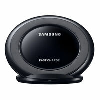 Black Qi OEM Samsung Fast Wireless Charger Stand Pad Galaxy S7 S6 Edge+ NOTE 5