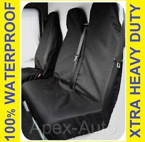 FIAT SCUDO 2+1 Van Seat Covers Custom Protectors 100% WATERPROOF