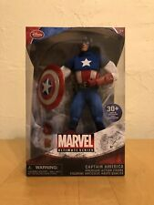 Marvel Captain America Disney Store Exclusive Figure 30+ Points Of Articulation