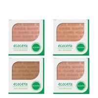 Ecocera Face Bronzer Pressed Powder 10g Vegan Make Up 4 Shades Paraben FREE