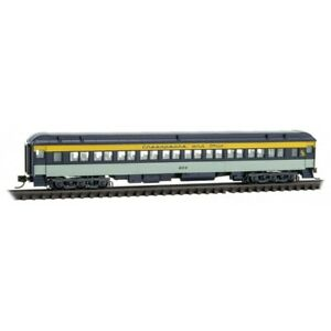 N Scale Micro-Trains MTL 14500410 C&O Chesapeake Ohio 78' Passenger Coach #604