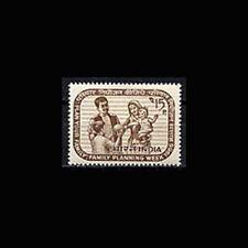 India, Sc #442, MNH, 1966, Family planning, AR6D