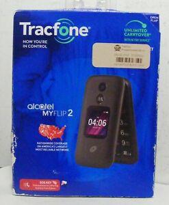 Alcatel MyFlip2 New in Retail Box w DEF SALV label (Tracfone locked)