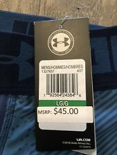 Men's Under Armour HeatGear  Full Length Leggings  NEW WITH TAGS Large BLUE