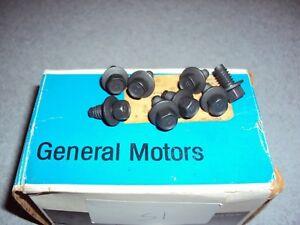 GM NOS Door Handle Bolts Camaro BERGER COPO Z28 YENKO Chevelle SS Corvette Chevy