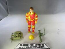 """Vintage"" GI Joe BLOWTORCH+Accessories Original Accessories Hasbro 1984"