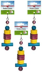 Kaytee Superpet Perfect Chew Hamster Super Pet Small Animal Toy Lot Of 3 Pieces