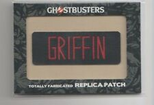 2016 Ghostbusters Totally Fabricated Replica Patch Trading Card #H7 Griffin