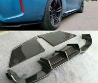 Fits For BMW F87 M2 only Carbon Fiber Rear Bumper Diffuser Lip MTC Type 2016+