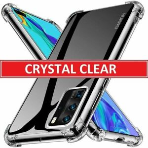 CLEAR Case for Huawei P40 Pro Lite P30 New Edition Shockproof Clear GEL Cover